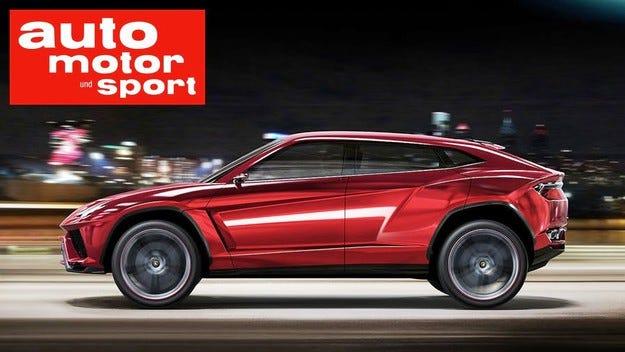 Кросоувърът Lamborghini получава хибридно задвижване