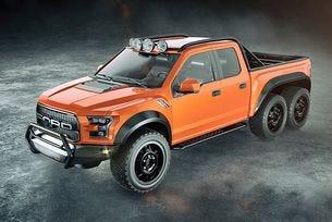 Hennessey направи шестколесен пикап Ford Raptor