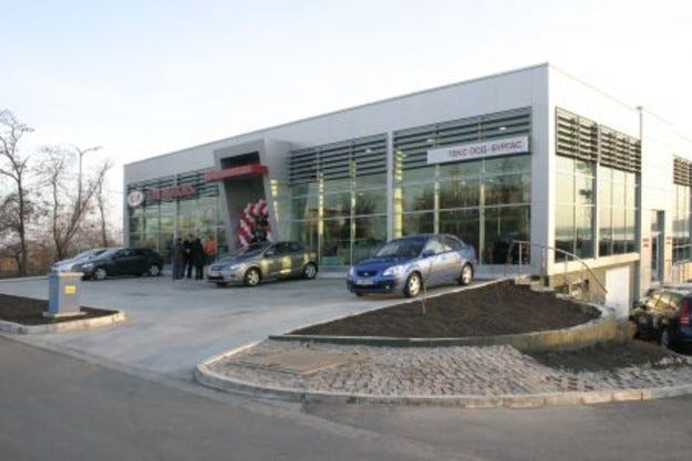 Нов шоурум на Kia в Бургас