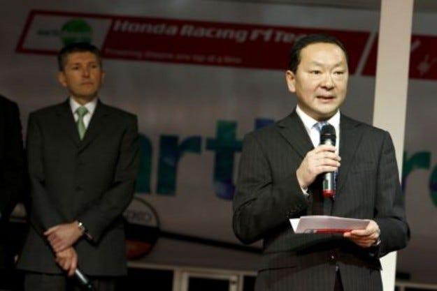 Шефът на Honda напуска Формула 1