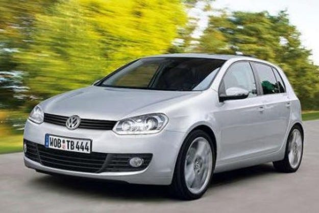 VW Golf VI: Шестица от тотото
