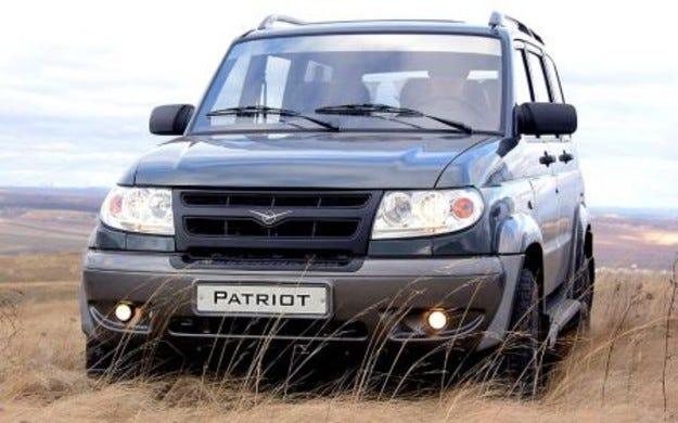 УАЗ Patriot е пръв по продажби в Украйна