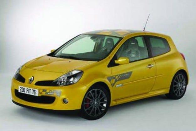 Renault Clio: F1-промоция