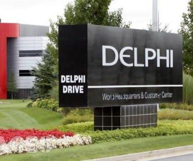 Фалиралата Delphi дърпа надолу и General Motors