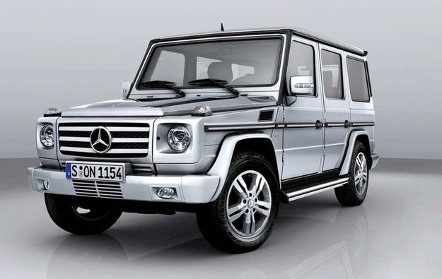 2009 Mercedes G-класа: Старата школа
