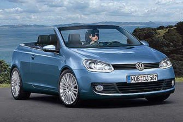 VW Golf Cabrio: Откриване на сезона