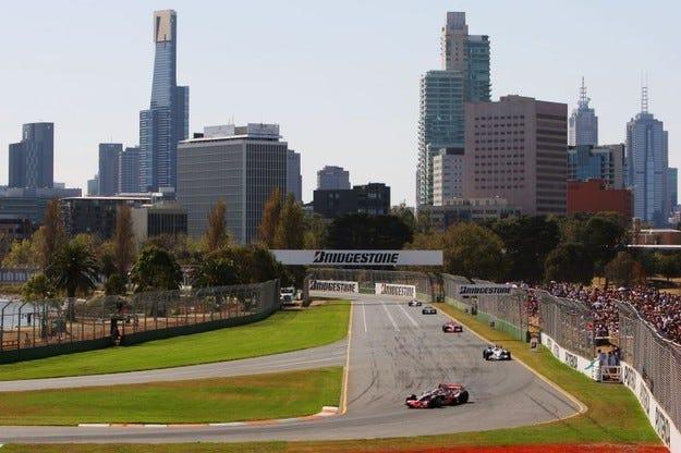 Гран при на Австралия във Формула 1 до 2015 година