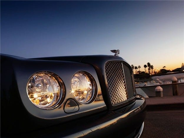 Bentley Arnage: Модерни времена