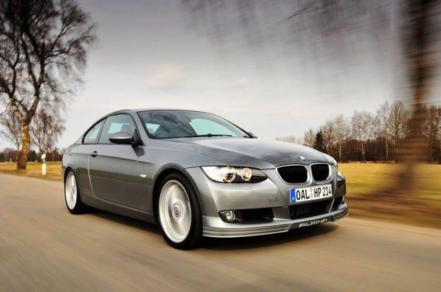 BMW Alpina D3 Bi-turbo Coupe: Трансплантация