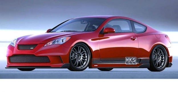 HKS Hyundai Genesis Coupe: Magical Progression