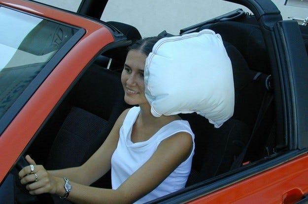 Нов защитен еърбег за кабриолети