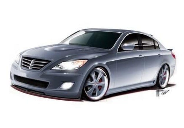 RKSport Hyundai Genesis V8: Корейската S-класа