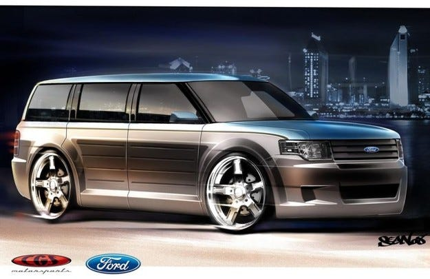 CGS Motorsports Ford Flex: Save The Whale