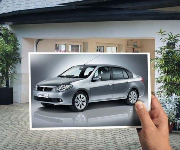 Един от трите Renault Symbol e вече спечелен
