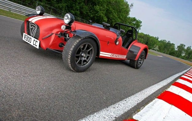 Caterham R300: Tales Of The Fall