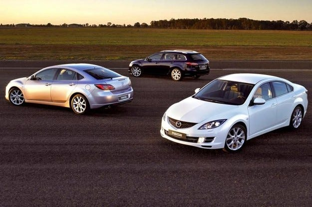 Mazda 6 с нов 2,2-литров дизел