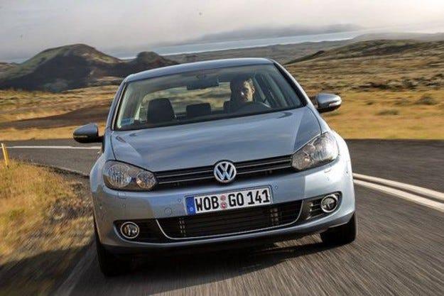 VW Golf VI 4Motion за зимата