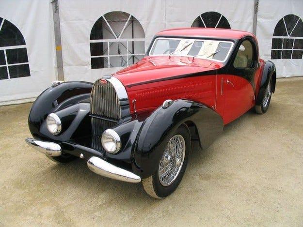 Bugatti Atalante 57 S: Богато наследство