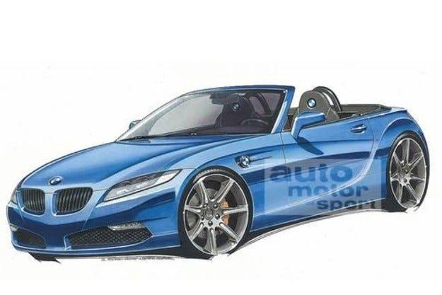 Разкрито: BMW Z2