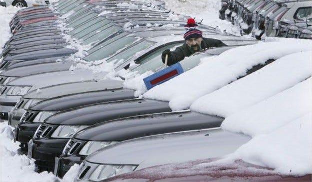Saab подаде документи за банкрут
