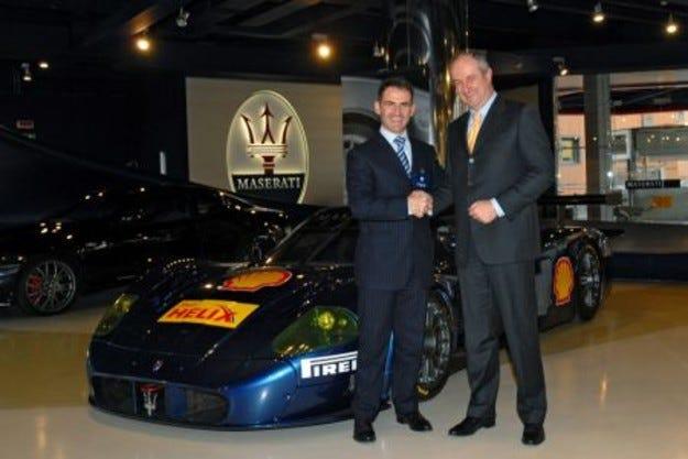 Maserati  и Shell подписаха глобален договор за партньроство