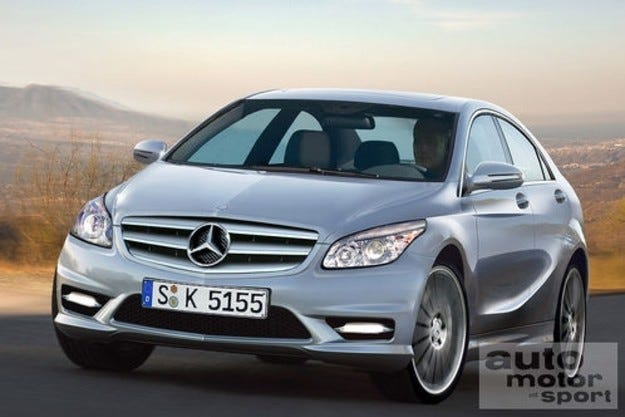 Разкрито: Mercedes A и B-класа