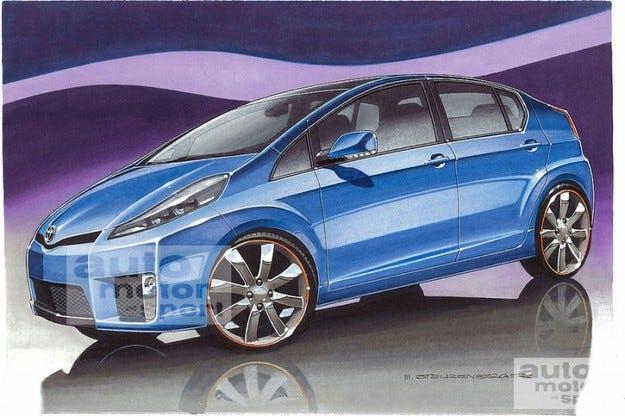 Toyota Yaris Hybrid: Малкият Prius