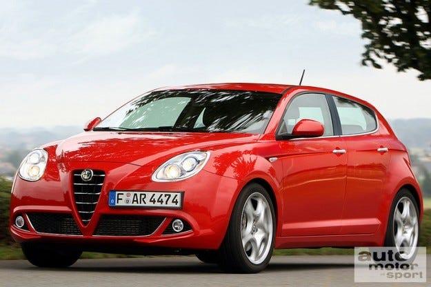 Alfa Romeo Milano: Наследника