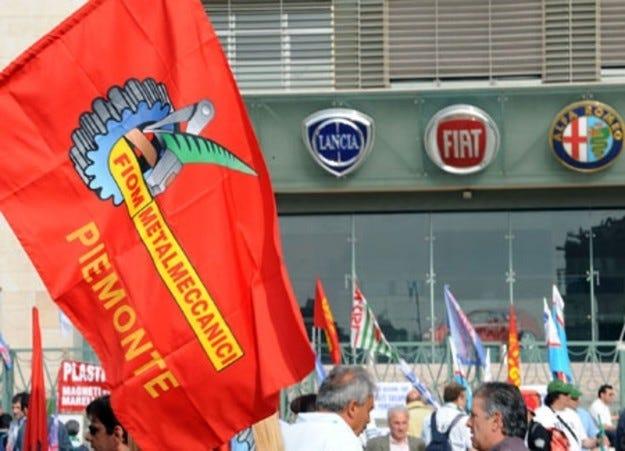 Протести във Fiat