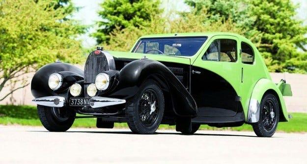 Bugatti Type 57C Coupe: В опит за нов световен рекорд