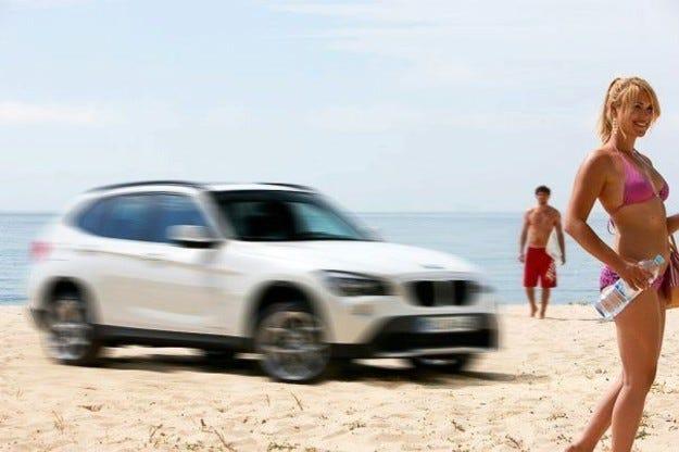 BMW X1: На час по лъжичка