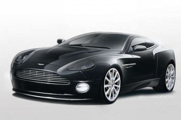 Aston Martin: Продадено!