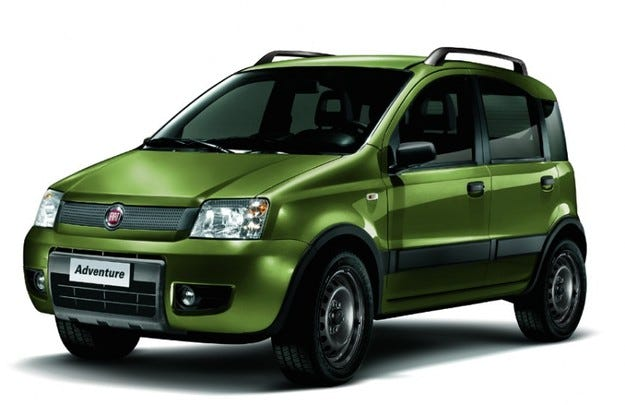 Fiat Panda 4x4 Adventure: Малкият рейнджър