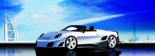 9ff GT9-R Cabrio: Три за щастие