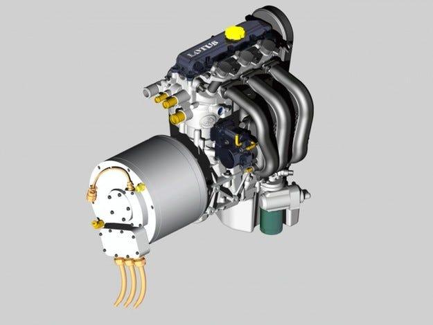 Lotus с нов трицилиндров мотор