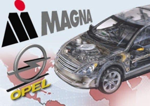 Opel отива в ръцете на Magna