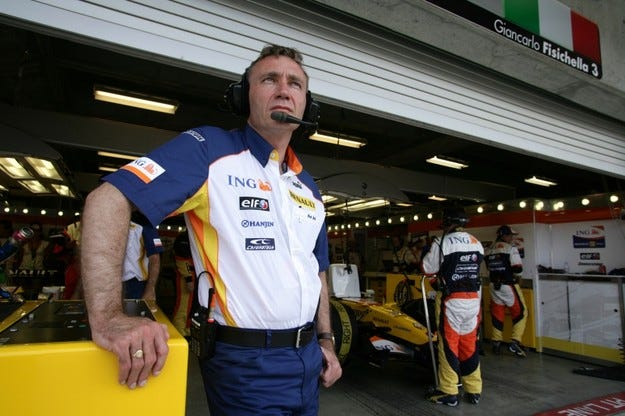 Renault номинира Боб Бел за тим-шеф