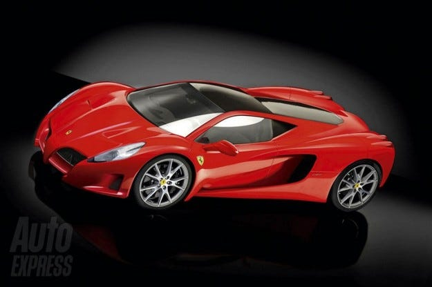 Ferrari F70: Карбон и V8