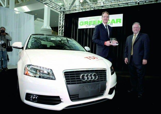 Audi A3: Чиста работа