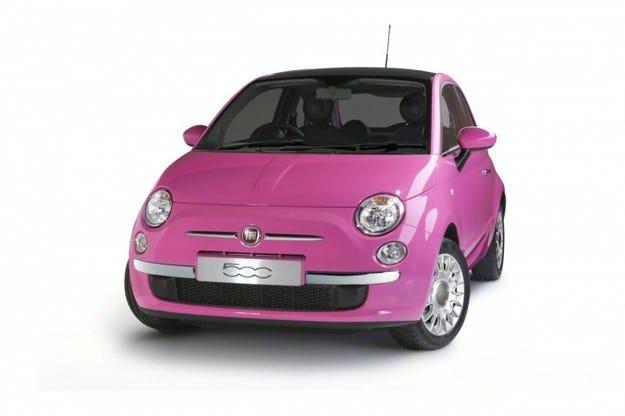 Fiat 500 Pink: Женска работа