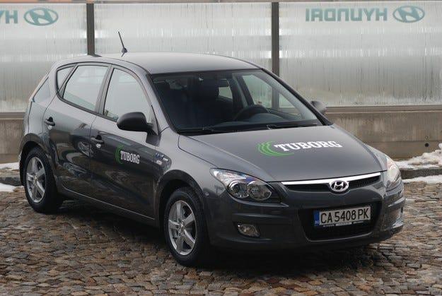 Карлсберг България попълни автопарка си с автомобили Hyundai