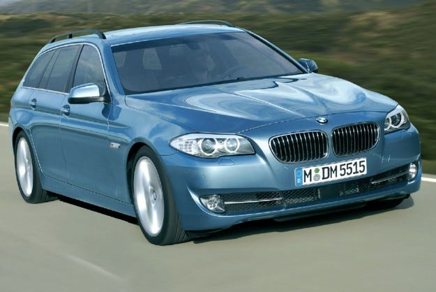 BMW 5 Touring: Предстояща премиера