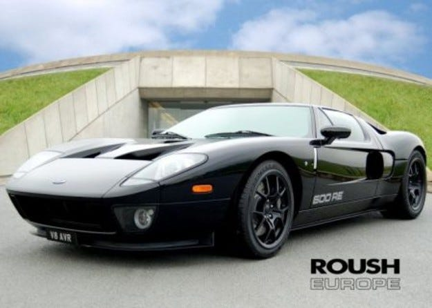 Ford GT 600RE: Черна магия от Roush