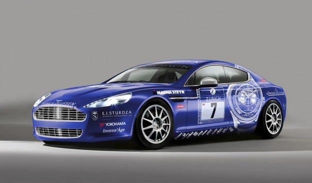 Aston Martin Rapide: Здравей, Нюрбургринг