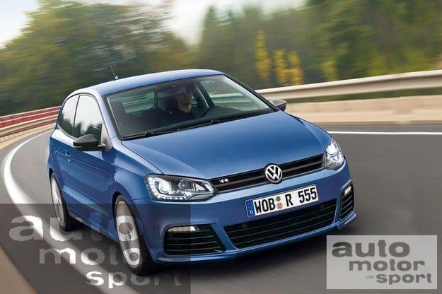 VW Polo R: Очаквайте през 2012
