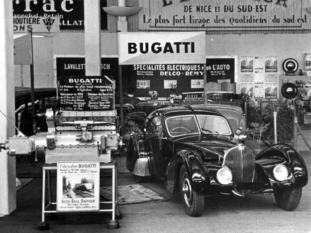 Класическо Bugatti беше продадено за 30 млн. долара