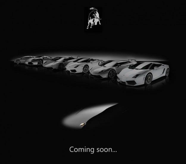 Lamborghini Jota: Очаквайте!