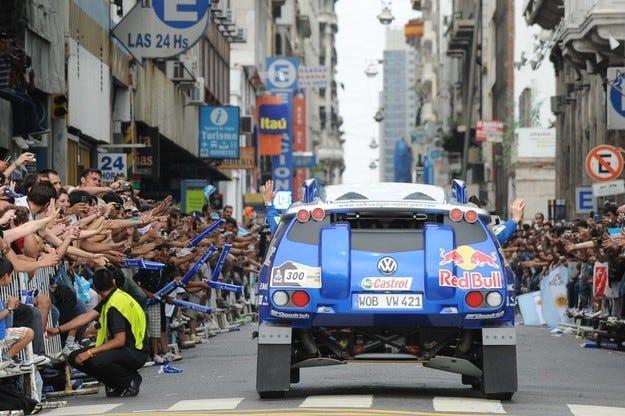 VW работи по Race Touareg 3