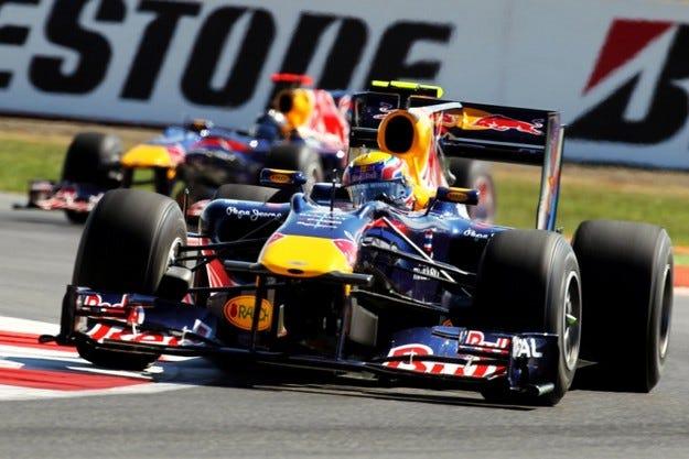 Гран при на Великобритания: Уебър спечели напук на Red Bull