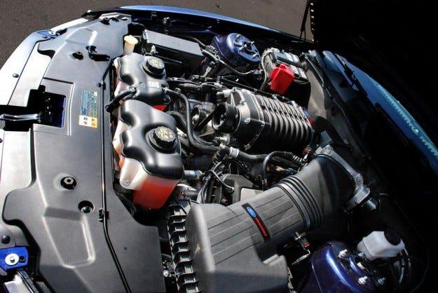 Ford Mustang: Въздух под налягане